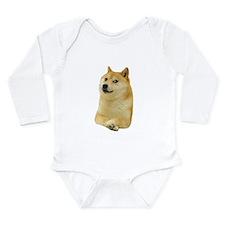 Cute Shiba inu Long Sleeve Infant Bodysuit