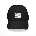 I *HEART* My Sax Black Cap