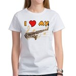 I *HEART* My Sax Women's T-Shirt