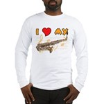 I *HEART* My Sax Long Sleeve T-Shirt