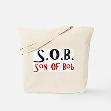 Cute Son Tote Bag
