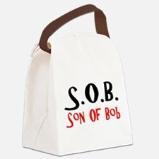 Funny Son Canvas Lunch Bag