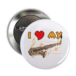 I *HEART* My Sax Button