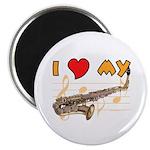 I *HEART* My Sax Magnet