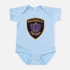 Massachusetts Constable Infant Bodysuit