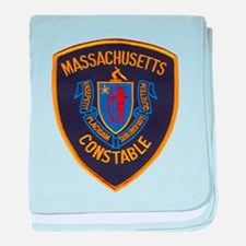 Massachusetts Constable baby blanket