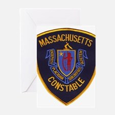 Massachusetts Constable Greeting Card