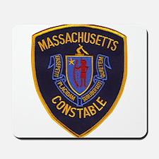 Massachusetts Constable Mousepad