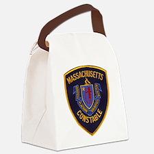 Massachusetts Constable Canvas Lunch Bag