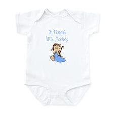 Mommy's Monkey(blue) Infant Bodysuit