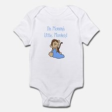 Mommy's Monkey(blue) Infant Bodysuit