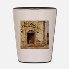 Eugene Boudin - Door of the Touques Chu Shot Glass