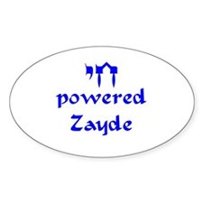 Chai powered Zayde Decal