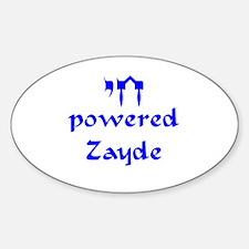 Chai powered Zayde Sticker (Oval)