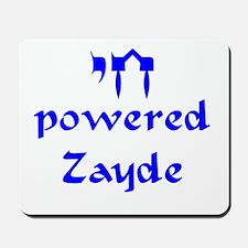 Chai powered Zayde Mousepad