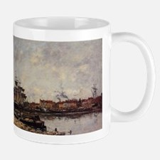 Eugene Boudin - Dunkirk, the Inner Port Mugs