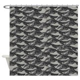 Borzoi Shower Curtains