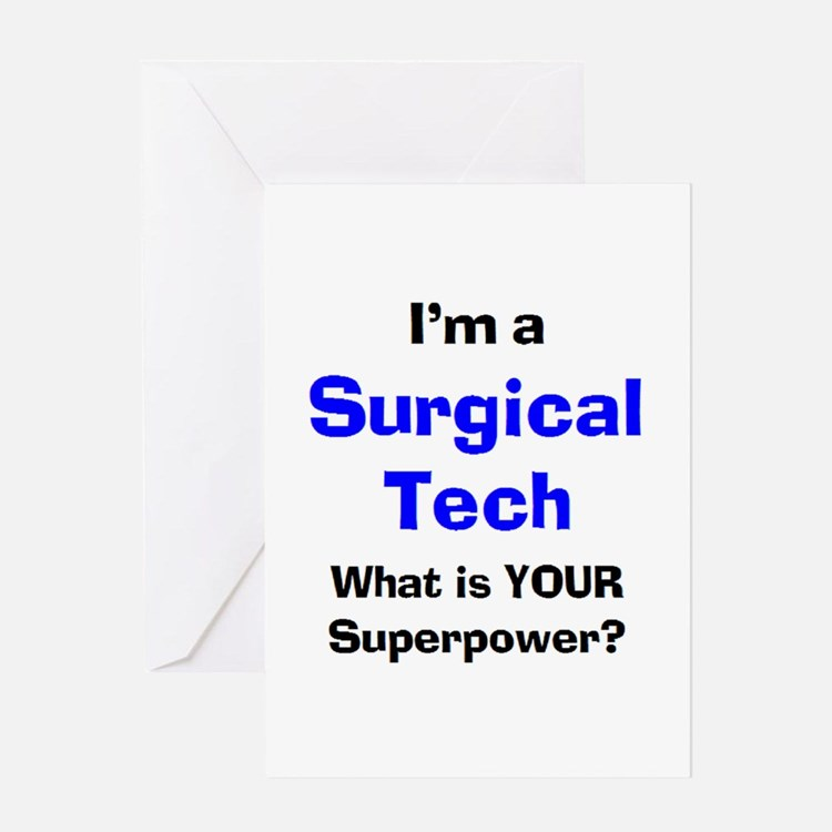 surgical tech Greeting Card