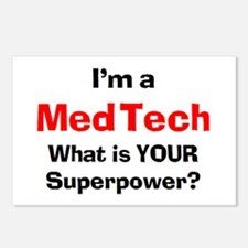 med tech Postcards (Package of 8)