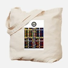 Enochian Earth Watchtower Tote Bag