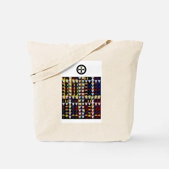 Enochian Earth Watchtower Tote Bag