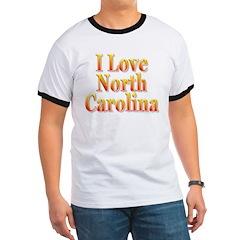 I Love North Carolina T