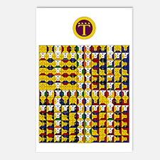 Enochian Air Watchtower Postcards (Package of 8)