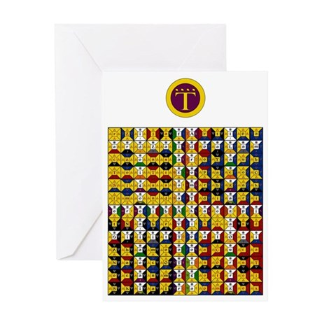 Enochian Air Watchtower Greeting Card