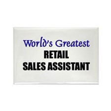 Worlds Greatest RETAIL PHARMACIST Rectangle Magnet