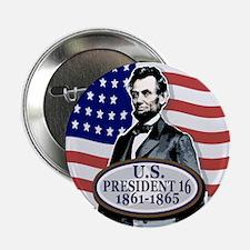 President Abe Lincoln Button