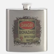 INFECTIOUS WASTE Flask