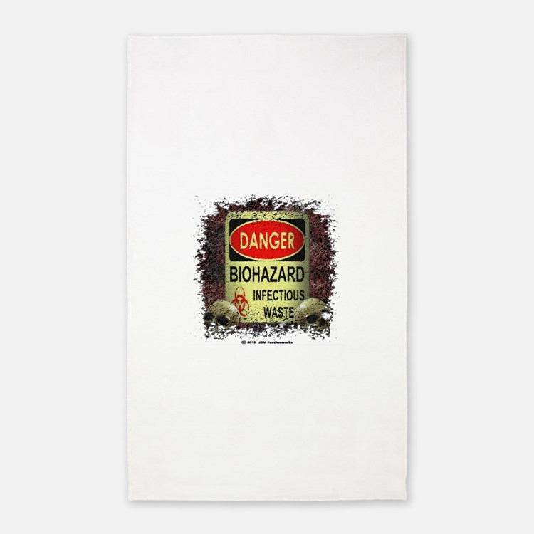 INFECTIOUS WASTE Area Rug