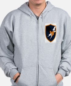 Unique Army security agency Zip Hoodie