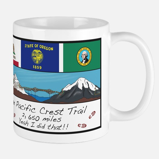 Pacific Crest Trail Mug Mugs