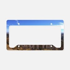 Hollywood Sign License Plate Holder