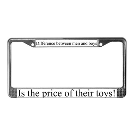 Price of Toys License Plate Frame