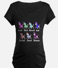 French Poodle Days T-Shirt