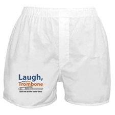 Laugh and Play Trombone Boxer Shorts