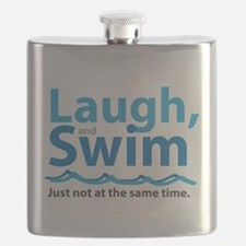 Laugh and Swim Flask