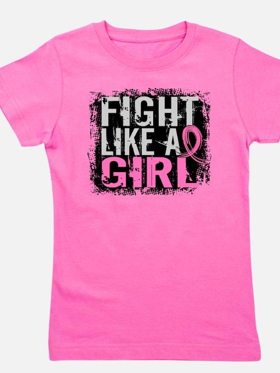 Cute Fight like a girl Girl's Tee