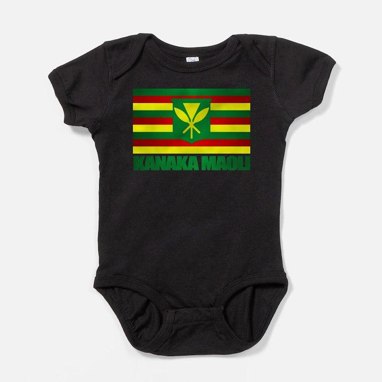 Cute Hawaii flag Baby Bodysuit