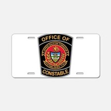 > Upper Saucon Constable Aluminum License Plate
