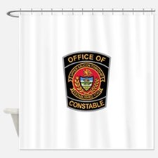 > Upper Saucon Constable Shower Curtain