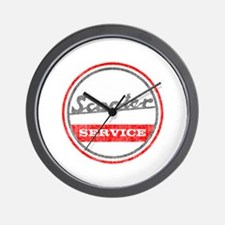 Scooter Service Wall Clock