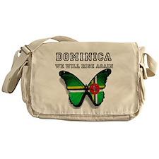 Rise Again Butterfly Messenger Bag