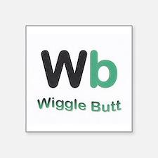 Wiggle Butt Sticker
