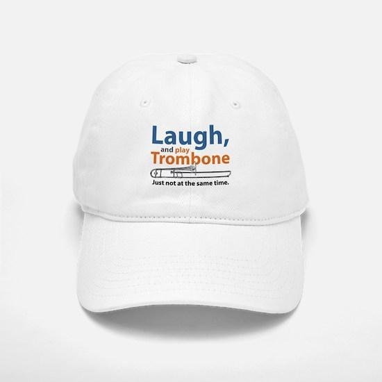 Laugh and Play Trombone Baseball Baseball Cap