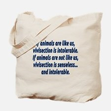 If animals are like us - Tote Bag