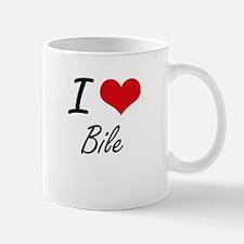 I Love Bile Artistic Design Mugs