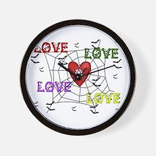 Cynical Love Wall Clock